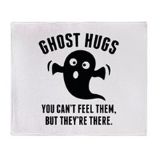 Ghost Hugs Stadium Blanket