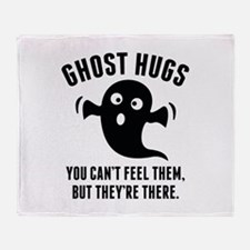 Ghost Hugs Stadium Blanket