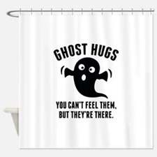 Ghost Hugs Shower Curtain