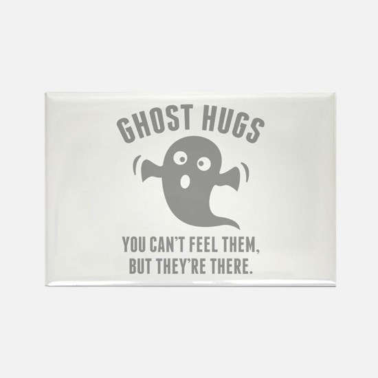 Ghost Hugs Rectangle Magnet