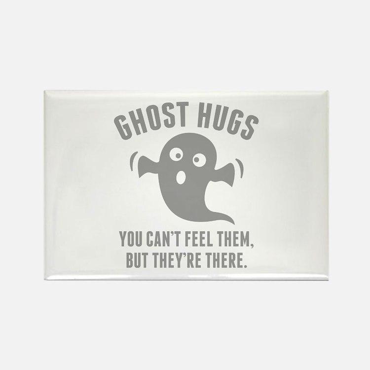 Ghost Hugs Rectangle Magnet