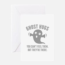 Ghost Hugs Greeting Card