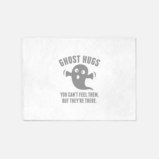 Ghost Hugs 5'x7'Area Rug