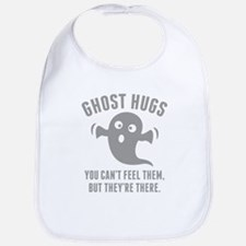Ghost Hugs Bib