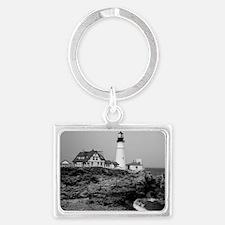 Portland Head Lighthouse Landscape Keychain