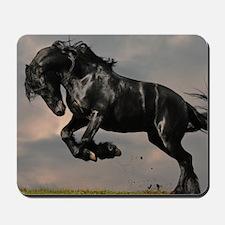 Beautiful Black Horse Mousepad
