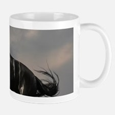 Beautiful Black Horse Mugs