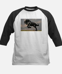 Beautiful Black Horse Baseball Jersey
