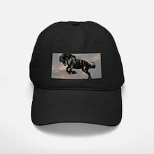 Beautiful Black Horse Baseball Hat