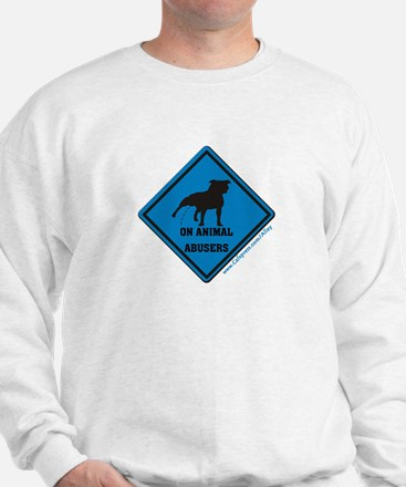 Piss On Animal Abusers Jumper