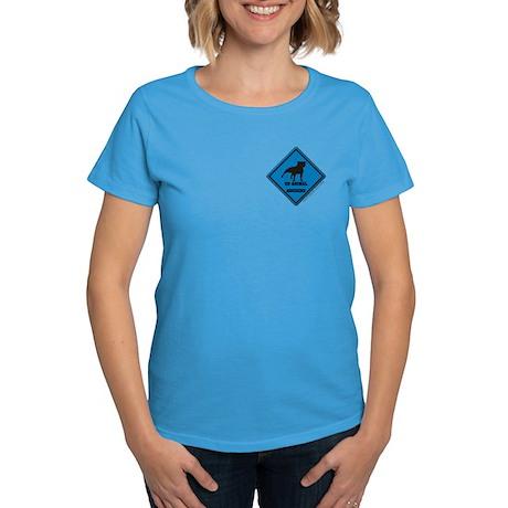 Piss On Animal Abusers Women's Dark T-Shirt