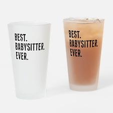 Best Babysitter Ever Drinking Glass