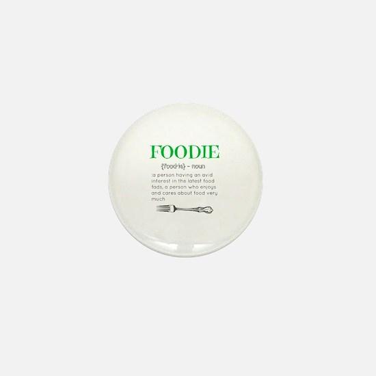 Foodie Definition  Mini Button