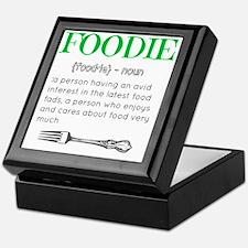 Foodie Definition  Keepsake Box