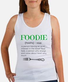 Foodie Definition  Women's Tank Top