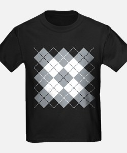 Argyle Design T-Shirt