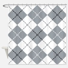 Argyle Design Shower Curtain