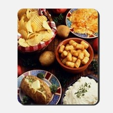 Potato Foods Mousepad