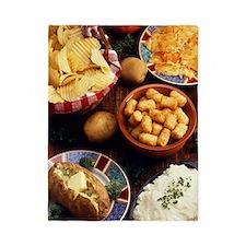Potato Foods Twin Duvet