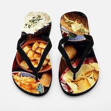 Potato Foods Flip Flops
