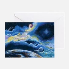 Cute The planet is fine Greeting Card