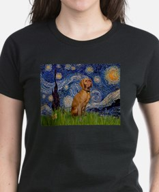 Starry Night & Vizsla Tee