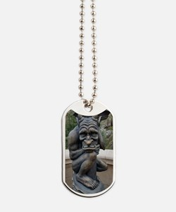 Gargoyle In the Day Dog Tags