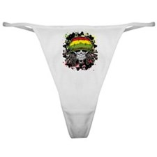 Jamaican Rasta Skull Classic Thong