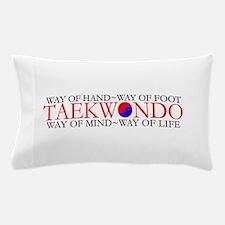 Tae Kwon Do Philosophy Pillow Case