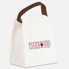 Tae Kwon Do Philosophy Canvas Lunch Bag