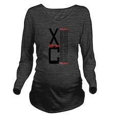 XCrunrunLT.png Long Sleeve Maternity T-Shirt