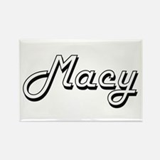 Macy surname classic design Magnets