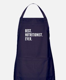 Best Nutritionist Ever Apron (dark)