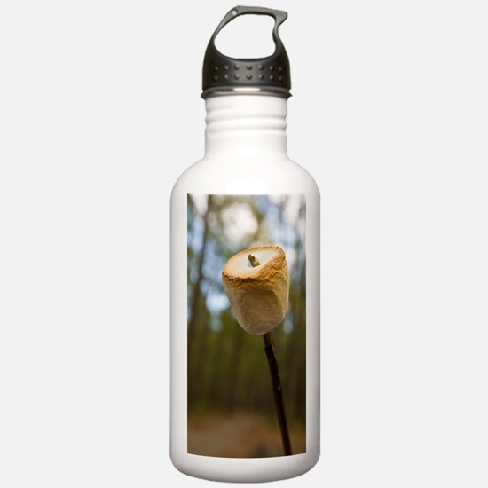 Roasting Marshmallows  Sports Water Bottle