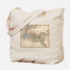 Vintage Map of The Roman Empire (1838) Tote Bag