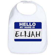 Funny Elijah Bib