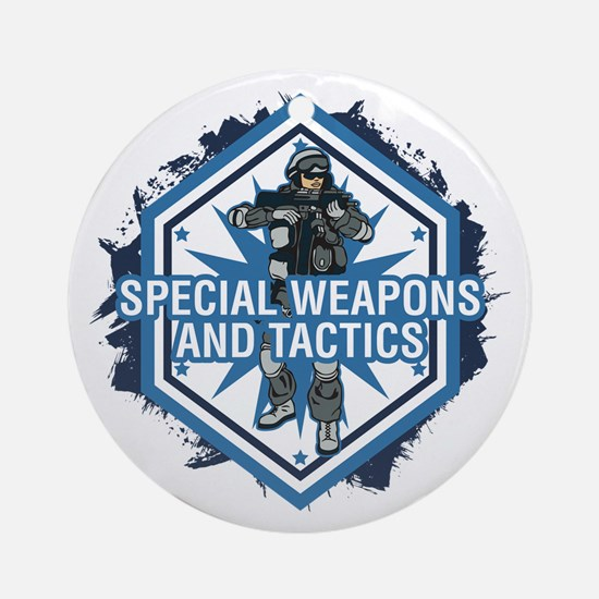 Special Weapons and Tactics Ornament (Round)