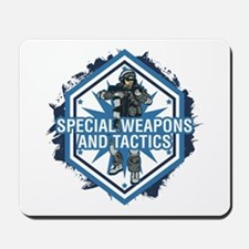 Special Weapons and Tactics Mousepad