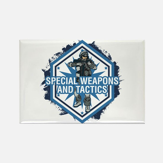 Special Weapons and Tactics Rectangle Magnet