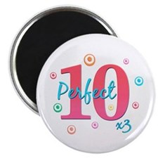Perfect 10 x3 Magnet
