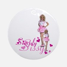 Simply Sissy Ornament (Round)