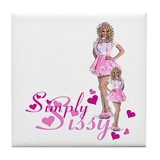 Simply Sissy Tile Coaster