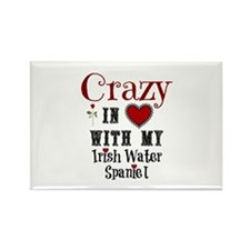 Irish Water Spaniel Magnets