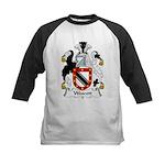 Wescott Family Crest Kids Baseball Jersey