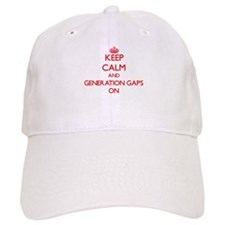 Keep Calm and Generation Gaps ON Baseball Cap