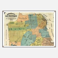 Vintage Map of San Francisco (1890) Banner