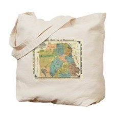 Vintage Map of San Francisco (1890) Tote Bag