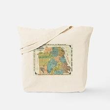Vintage Map of San Francisco (1890) Tote Bag