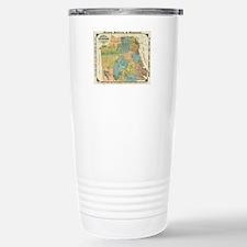 Vintage Map of San Fran Travel Mug