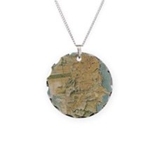 Vintage Map of San Francisco Necklace